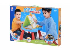 Обучающий стол Same Toy My Art centre синий 8805Ut