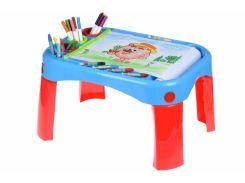 Обучающий стол Same Toy My Fun Creative table с аксесуарами 8810Ut