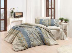 Постельное белье Majoli ранфорс Valerie V4 Двуспальный евро комплект