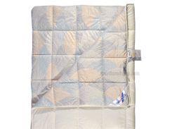 Одеяло шерстяное Billerbeck Фаворит жемчужное легкое, 140х205 см вес 450 г