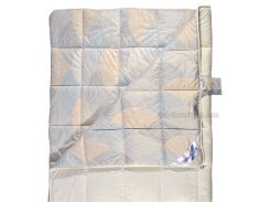 Одеяло шерстяное Billerbeck Фаворит жемчужное облегченное, 200х220 см вес 1300 г