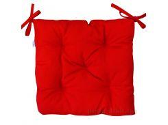 Подушка на стул Прованс Half panama Red 40х40 см