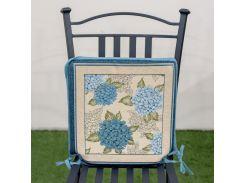 Подушка для стула гобеленовая Villa Grazia Premium Анабель 40x40 см 40х40 см