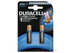 Батарейка Duracell TurboMax AAА алкалиновая 1.5V LR03 (2 шт.)