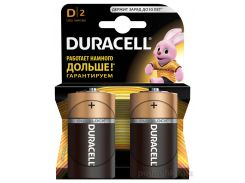 Батарейка Duracell Basic D алкалиновая 1.5V LR20 (2 шт.)