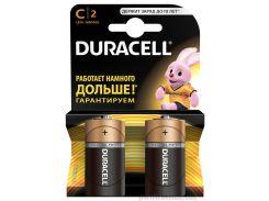 Батарейка Duracell Basic C алкалиновая 1.5V LR14 (2 шт.)