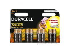 Батарейка Duracell Basic AA алкалиновая 1.5V LR6 (8 шт.)