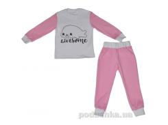 Пижама для девочки Морская кошка D&S 185003 110