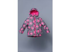 Демисезонная куртка для девочки розы Модный карапуз 03-00748_Rozy_86 98