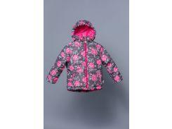 Демисезонная куртка для девочки розы Модный карапуз 03-00748_Rozy_86 104