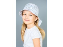 Панама-сафари детская белая Модный карапуз 03-00707_belyj-yakor_48 48