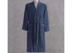 Халат махровый кимоно Pavia Esteban Indigo индиго XL