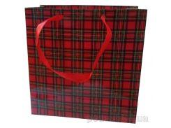 Пакет подарочный Шотландия 16х16