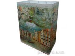 Пакет подарочный Венеция 33х45