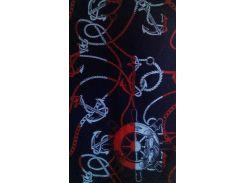 Полотенце пляжное махровое Речицкий текстиль Якорные цепи