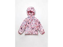 Детская куртка жилетка для девочки Модный карапуз 03-00695_86 104