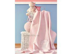 Плед детский Karaca Pink garden 100х120 см