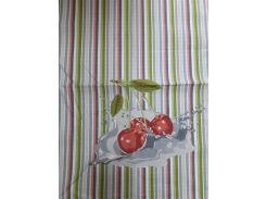 Полотенце кухонное вафельное Речицкий текстиль Вишня 45х60 см