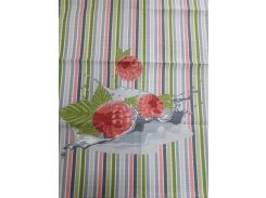Полотенце кухонное вафельное Речицкий текстиль Малина 45х60 см