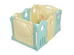 Ограждение манеж Same Toy Aole Милый мишка 6+2 AL-W170901