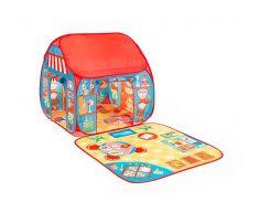 Игровая палатка Pop-it-Up Ресторан-Магазин с игровым ковриком F2TO15102