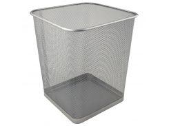 Корзина для бумаг Axent 2124-03-A 270x300мм метал., серебристая