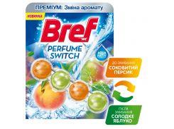Туалетный блок Bref Смена аромата Персик-Яблоко 9000101329803