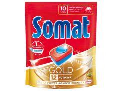 Таблетки для посудомоечной машины Somat Gold 10х19,2 г 9000101320831