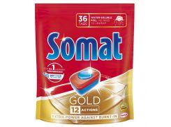 Таблетки для посудомоечной машины Somat Gold 36х19,2 г 9000101320930
