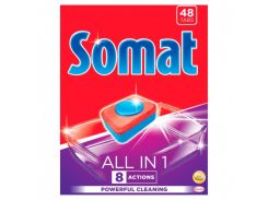 Таблетки для посудомоечной машины Somat All in one 48 таблеток 9000101347975