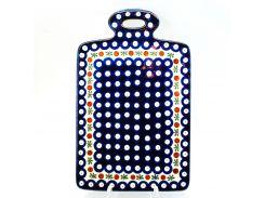 Доска разделочная Волшебная синева Керамика Артистична 29 см 411-70X