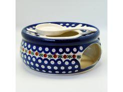 Горелка для чайника Волшебная синева Керамика Артистична 19 см 465-70X