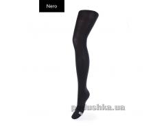 Колготки зимние черные для девочки 80 den Betty Giulia 140-146