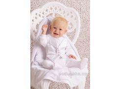Комплект крестильный для мальчика Модный Карапуз 03-00454 74