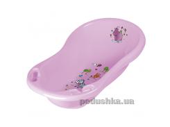 Детская ванночка Prima baby Hippo 84 см лиловая