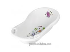 Детская ванночка Prima baby Hippo 84 см белая