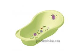 Детская ванночка Prima baby Hippo 100 см зелёная