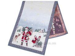 Дорожка гобеленовая новогодняя LiMaSo Зимняя сказка 45x140 см