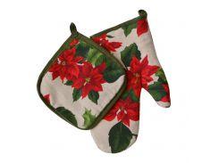 Набор рукавичка и прихватка Рождественский Прованс per-001694