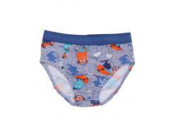 Трусы для мальчика Татошка 1113208мс, голубой джинс и монстрики 110