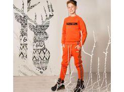 Джемпер для мальчика Овен Хакан 18Д-148-16 трехнитка с начесом 128