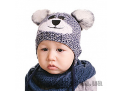 Шапка для мальчика Тедди (44-48) Алекс ГБД421-44-48