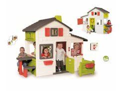 Дом для друзей с чердаком и дверным звонком 3 Smoby 310209