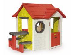 Дом На берегу моря со столом и звонком 2+ Smoby 810401