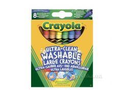 Большие смываемые цветные восковые мелки Crayola 52-3282
