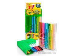 Набор парных фломастеров из 10 ароматизированных пастельных цветов и 10 классических цветов Crayola 04-6829
