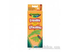 Цветные карандаши со специальными ластиками 10 шт Crayola 3635