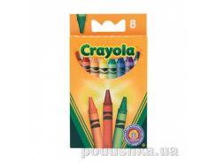Цветные восковые мелки 8 шт Crayola 0008