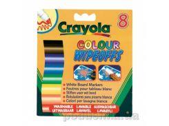 Фломастеры для письма на доске 8 шт Crayola 8223