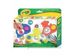 Набор для творчества Спирали с карандашами и трафаретами Crayola 5452